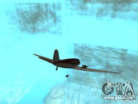 Bombes pour avions pour GTA San Andreas deuxième écran