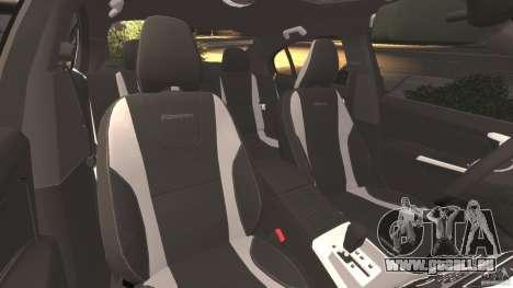 Volvo S60 R-Designs v2.0 für GTA 4 Innenansicht