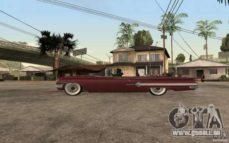 Chevrolet Impala 1960 für GTA San Andreas linke Ansicht