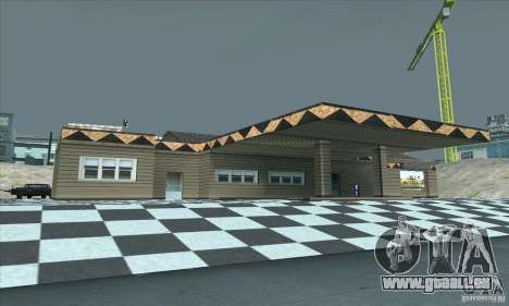 La mise à jour garage CJ dans SF pour GTA San Andreas deuxième écran
