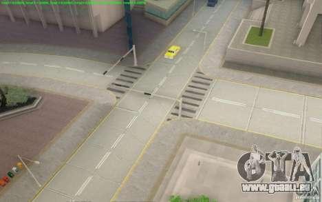 Routes en béton de Los Santos Beta pour GTA San Andreas cinquième écran