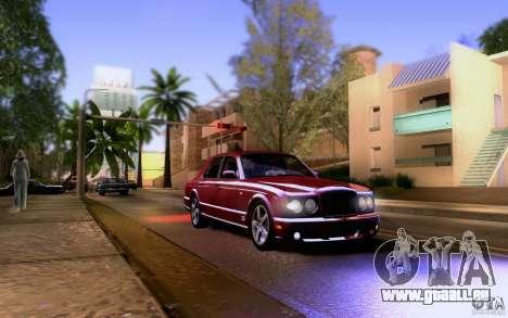 Bentley Arnage pour GTA San Andreas vue de côté