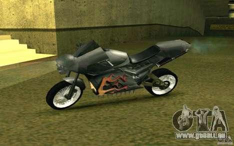 Moto de la ville de Alien pour GTA San Andreas