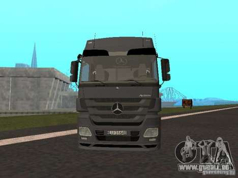 Mercedes-Benz Actros MP3 für GTA San Andreas linke Ansicht