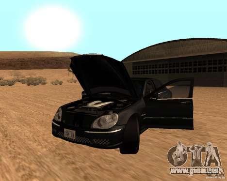 Mercedes-Benz S65 AMG W220 pour GTA San Andreas
