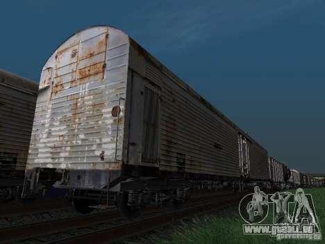 Refrežiratornyj wagon Dessau n7 pour GTA San Andreas laissé vue