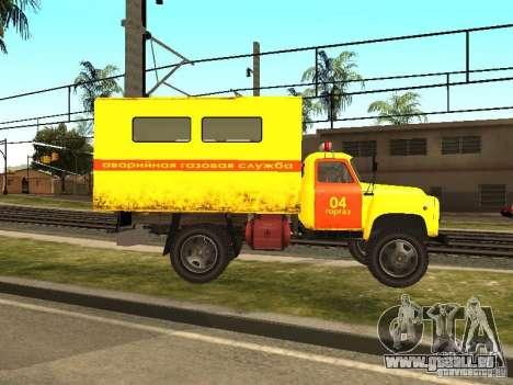 GAZ 53 für GTA San Andreas linke Ansicht