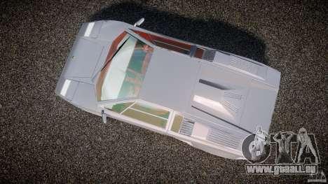 Lamborghini Countach pour GTA 4 est un droit