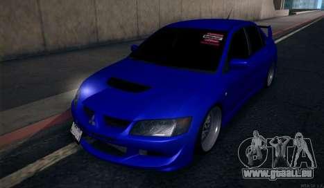 Mitsubishi Lancer Evolution für GTA San Andreas