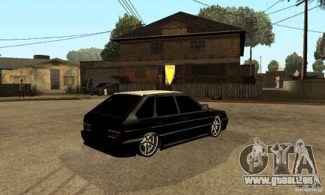 Lada ВАЗ 2114 LT für GTA San Andreas rechten Ansicht