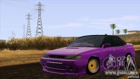 Subaru Legacy Drift Union für GTA San Andreas zurück linke Ansicht