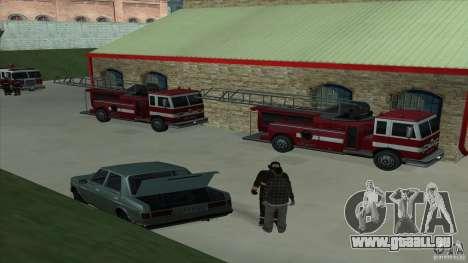 Le feu vif dans la v3.0 SF Final pour GTA San Andreas troisième écran
