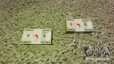 L'encours des billets en coupures de 5 $ aux Éta pour GTA 4 secondes d'écran