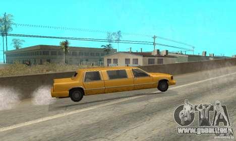 VIP TAXI pour GTA San Andreas sixième écran