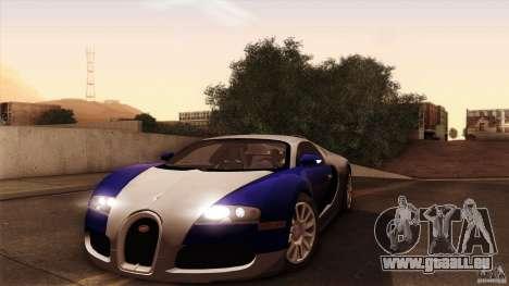 Bugatti Veyron 16.4 für GTA San Andreas rechten Ansicht