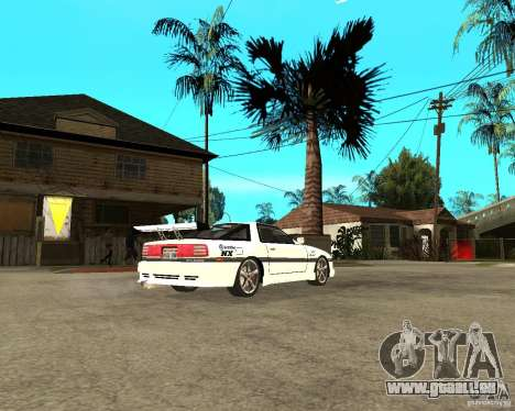 Toyota Supra MK3 Tuning pour GTA San Andreas vue de droite