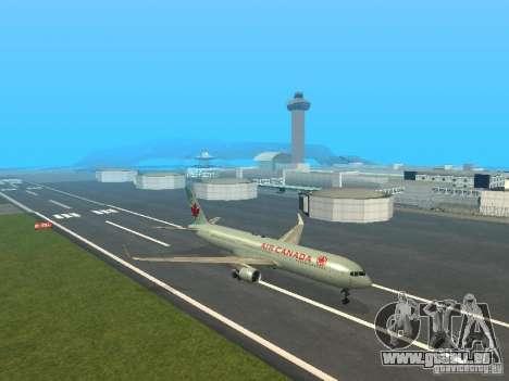 Boeing 767-300 Air Canada für GTA San Andreas linke Ansicht