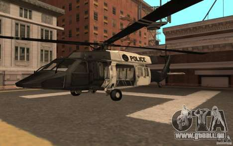 Black Hawk from BO2 für GTA San Andreas