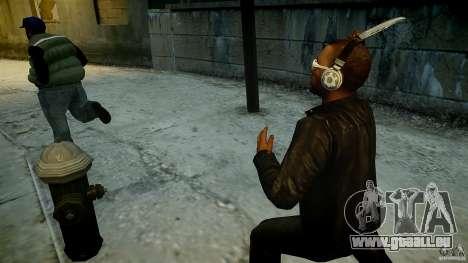 B.A.K. Knife für GTA 4 Sekunden Bildschirm