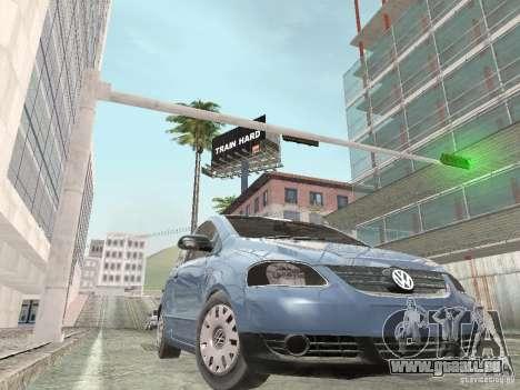 Volkswagen Fox 2011 für GTA San Andreas zurück linke Ansicht