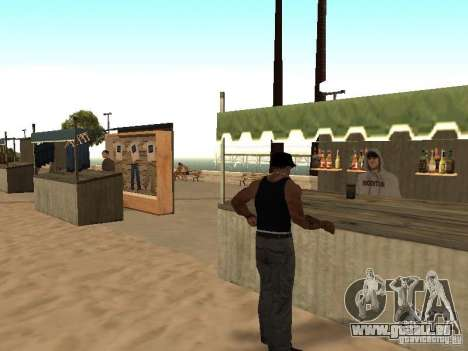 Markt am Strand für GTA San Andreas neunten Screenshot