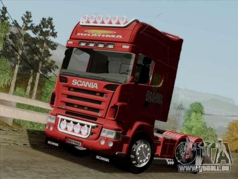Scania R620 Brahma für GTA San Andreas Innenansicht