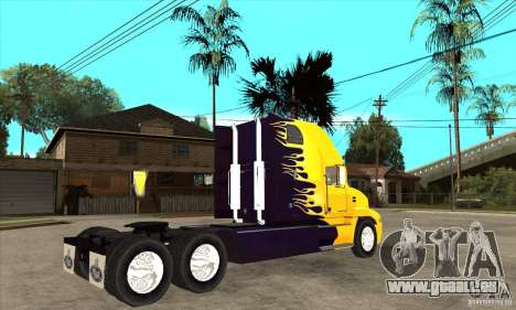Mack für GTA San Andreas Rückansicht