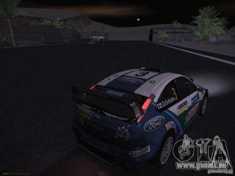 Ford Focus RS WRC 2006 pour GTA San Andreas salon