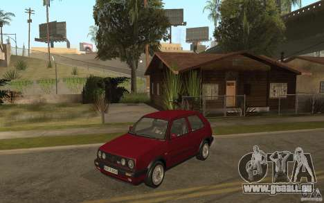 VW Golf Mk2 GTI für GTA San Andreas Rückansicht