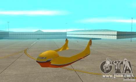 Transporteur aérien de plate-forme élévatrice pour GTA San Andreas laissé vue