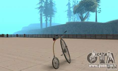 Penny-Farthing Ordinary Bicycle für GTA San Andreas linke Ansicht