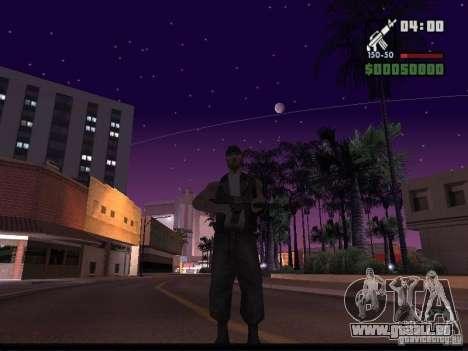 Ciel étoilé v2.0 (pour SA: MP) pour GTA San Andreas troisième écran
