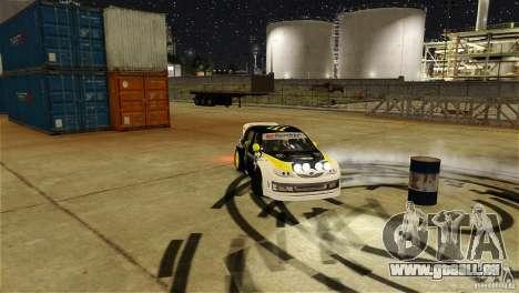 Subaru Impreza WRX STI Rallycross Monster Energy für GTA 4 Unteransicht