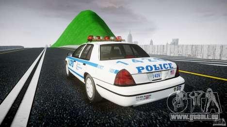 Ford Crown Victoria Police Department 2008 LCPD pour GTA 4 Vue arrière de la gauche