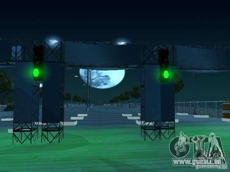 Faites glisser la route v 2.0 finale pour GTA San Andreas troisième écran