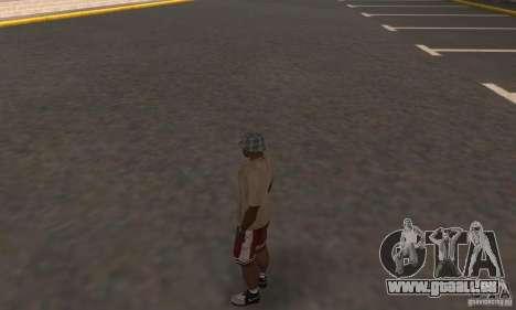 Nike Shoes pour GTA San Andreas deuxième écran