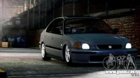 Honda Civic Vti pour GTA 4 est un droit
