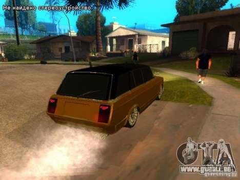 VAZ 2104 tuning pour GTA San Andreas sur la vue arrière gauche