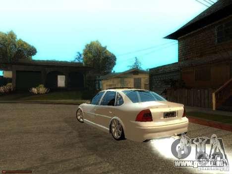 Chevrolet Vectra CD 2.2 16V 2003 pour GTA San Andreas laissé vue