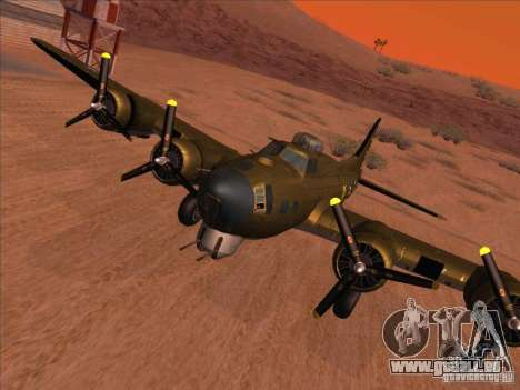B-17G Flying Fortress pour GTA San Andreas
