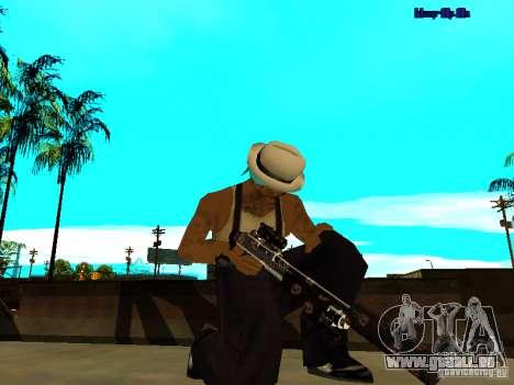 Trollface weapons pack für GTA San Andreas sechsten Screenshot