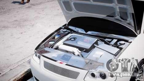 Audi A3 Tuning pour GTA 4 est un côté