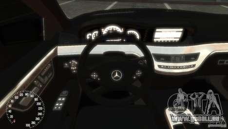 Mercedes-Benz S350 VIP für GTA 4 rechte Ansicht