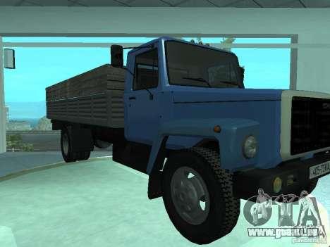 GAZ-3309 Elongatus für GTA San Andreas linke Ansicht