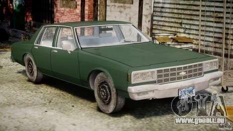 Chevrolet Impala 1983 v2.0 für GTA 4 linke Ansicht