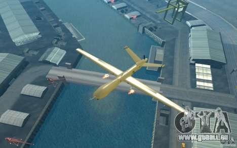 RQ9 Predator für GTA San Andreas rechten Ansicht