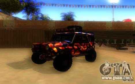 UAZ 4x4 pour GTA San Andreas