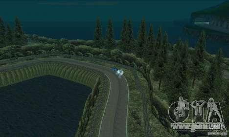 L'itinéraire du rallye pour GTA San Andreas neuvième écran