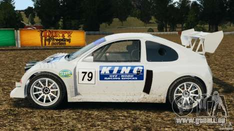 Colin McRae KING Rallycross für GTA 4 linke Ansicht