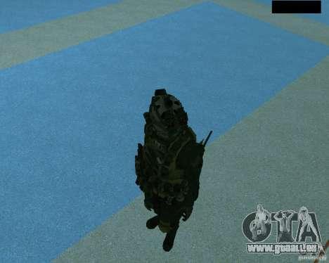 Der dritte Soldat aus der Haut Cod MW 2 für GTA San Andreas sechsten Screenshot